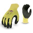 Radians Hi-Viz Knit Dip Safety Gloves - Large