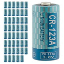 Tysonic CR123A 3.0V Lithium Ion Battery - Case of 48