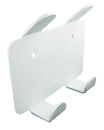 TrippNT 50094 Lab Hook, 2 Position with Tape: 8 x 7 x 2