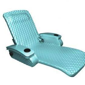 Texas Recreation Super Soft Adjustable Recliner, Aquamarine