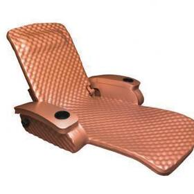 Texas Recreation Super Soft Adjustable Recliner, Coral