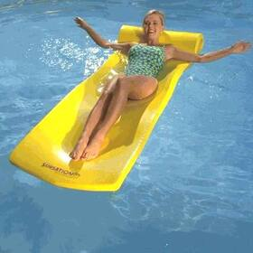Texas Recreation 8020012 Sunsation Pool Float, Yellow