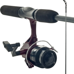 Gone Fishing Worm Gear Rod & Spincast Reel Combo
