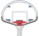 Trigon Sports BBFSG Fan-Shaped Glass Backboard
