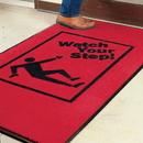 Seton Safety Slogan Carpet Mat - Watch Your Step - 08570