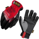 Mechanix 3437B Mechanix Wear FastFit Gloves, Size: Medium, Color: Black/Red