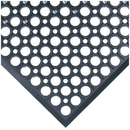 Seton 3583B WorkRite & WorkSafe Light Mats, Size: 3' x 5', Color: Black
