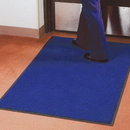 Seton 6604B Economy Carpet Mats, Size: 3' x 4', Color: Blue