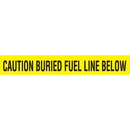 Seton 85498 Detectable Underground Warning Tape - Caution Buried Fuel Line Below, Size: 2
