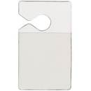 Seton 86535 Clear Parking Permit Holders, Size: 3
