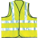 Seton 87257 OccuNomix High Visibility Flame Retardant Dual Stripe Vests, Size: Medium