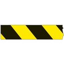 Seton Mini Barricade Tape - Caution Stripe - 90507