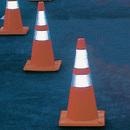 Seton 90753 Reflective Striped Cones, Size: 28