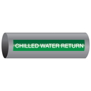Xtreme-Code 93331 Xtreme-Code Self-Adhesive High Performance Pipe Markers - Chilled Water Return