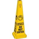 Seton 95207 Safety Traffic Cones- Caution Do Not Enter