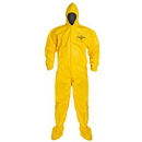 Dupont AA394 DuPont Tychem QC Coveralls, Size: Large