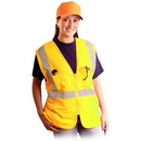 Occulux AA547 OccuNomix Classic Mesh Surveyor Vest, Size: Large/X-Large, Color: Yellow