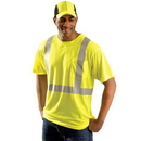 Occunomix BB804 OccuNomix OccuLux Class 2 Classic Lightweight T-Shirts, Size: XL, Color: Yellow