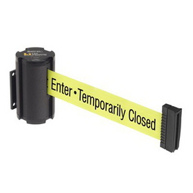 Beltrac Wall-Mount Retractable Belts - Safety Message Belt, BB906, Price/Each