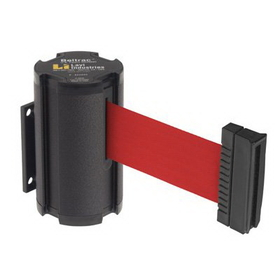 Beltrac Wall-Mount Retractable Belts - Red Belt, BB910, Price/Each