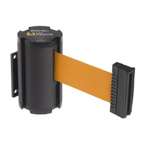 Beltrac Wall-Mount Retractable Belts - Orange Belt, BB916, Price/Each