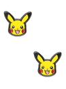 Body Vibe BDV-PIKAER01-C Pokemon Pikachu Head Stainless Steel Stud Earrings