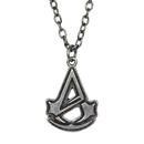 Bioworld Assassin's Creed Unity Logo Silver Necklace