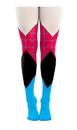 Bioworld BIW-GT44NTMPU-C Marvel Spider-Gwen Women's Sheer Costume Tights