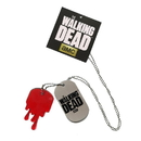 Bioworld The Walking Dead Metal Dog Tag Necklace