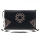Bioworld Star Wars Imperial Logo Womsn's Envelope Wallet with Chain