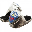 Bioworld Legend of Zelda Link's Shield Adult Plush Slipper