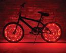 Brightz Ltd Wheel Brightz Lightweight LED Bicycle Safety Light Accessory Red