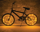 Brightz Ltd Wheel Brightz Lightweight LED Bicycle Safety Light Accessory Gold