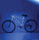 Brightz Ltd Cosmic Brightz Lightweight LED Bicycle Safety Light Accessory Blue