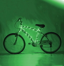 Brightz BRT-L2460-C Cosmic Brightz LED Bicycle Light Accessory: Green