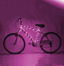Brightz BRT-L2477-C Cosmic Brightz LED Bicycle Light Accessory: Pink