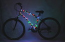 Brightz Ltd Cosmic Brightz Lightweight LED Bicycle Safety Light Multicolored
