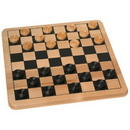 Cardinal CDL-53200-C Wood Checkers Board Game Set