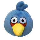 "Commonwealth Toys CMN-90905-C Angry Birds 16"" Plush Blue Bird With Sound"