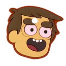 A Crowded Coop CRC-2236-C Bravest Warriors Key Cover Cap No Eyelids Danny Accessory