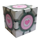 "A Crowded Coop CRC-P320-C Portal 2 Companion Cube 6"" Gift Box"