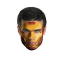 Disguise Iron Man Face Tattoo Costume
