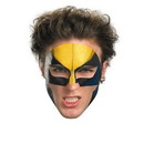 Disguise Wolverine Face Tattoo Costume