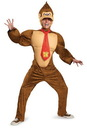 Disguise Super Mario Bros Nintendo Donkey Kong Deluxe Costume Adult