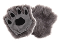 Elope Gray Fingerless Paw Costume Accessory