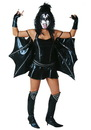 Fun Costumes KISS Sexy Demon Adult Womens Costume