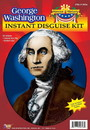 Forum Novelties George Washington Wig & Jabot Disguise Adult Costume Kit