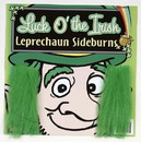 Forum Novelties FRM-60026-C:AI00 St. Patrick's Green Costume Sideburns One Size
