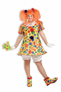 Giggles The Circus Clown Costume Dress Adult Plus