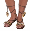 Forum Novelties Stone Age Women's Costume Sandals One Size